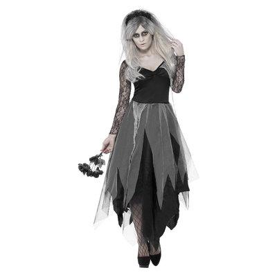 Kerkhof Bruid Kostuum - Zwart