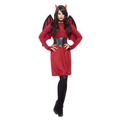 Duivel Kostuum - Rood