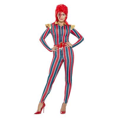 Miss Ruimte Superster Kostuum - Veelkleurige