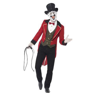 Sinister Circusdirecteur Kostuum - Rood