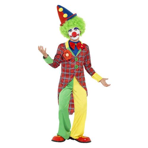 Smiffys Clown Kostuum - Rood