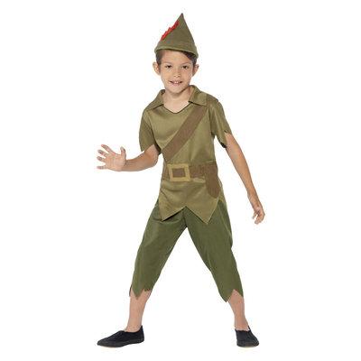 Robin Hood Kostuum - Groen