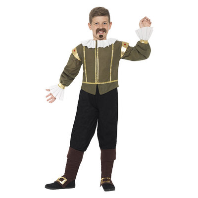 Shakespeare Kostuum - Groen