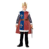 Smiffys Koning Arthur Middeleeuws Kostuum - Rood