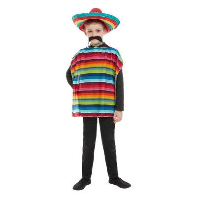Mexicaanse Verkleedset - Veelkleurig