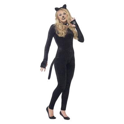 Kat Kostuum - Zwart