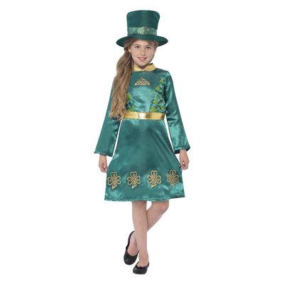 Kabouter Meisje Kostuum - Groen