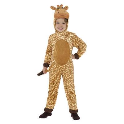 Giraffe Kostuum - Bruin