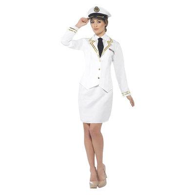 Marineofficier Kostuum - Wit