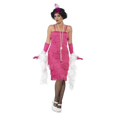 Flapper Kostuum - Roze