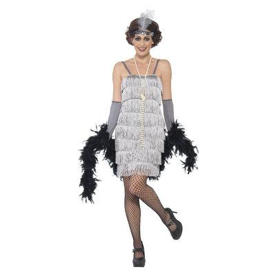 Flapper Kostuum - Zilver