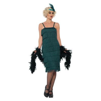 Flapper Kostuum - Groen