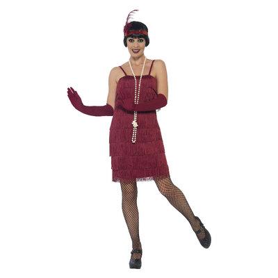 Flapper Kostuum - Rood