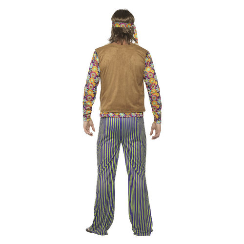 Smiffys '60 Zanger Kostuum - Man - Multi-gekleurd