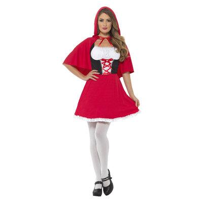 Red Riding Hood Kostuum - Rood