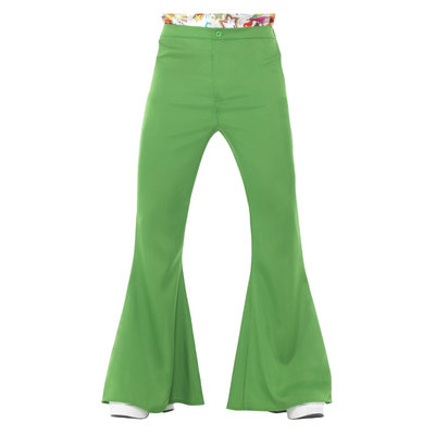 Flared Broek - Mannen - Groen