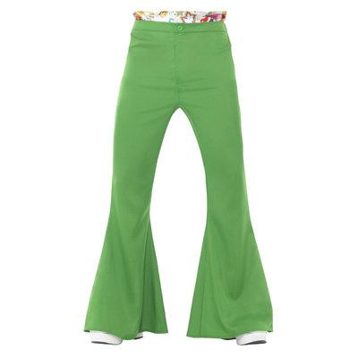 Uitlopende Broek - Mannen - Groen