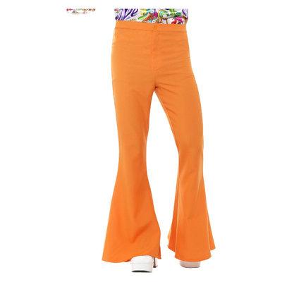 Flared Broek - Mannen - Oranje