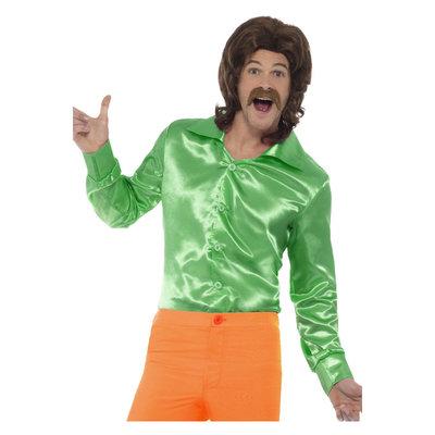 60s Overhemd - Groen