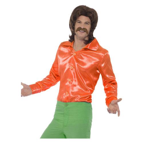 Smiffys '60 Overhemd - Oranje