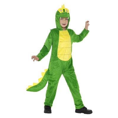 Deluxe Krokodilkostuum - Groen