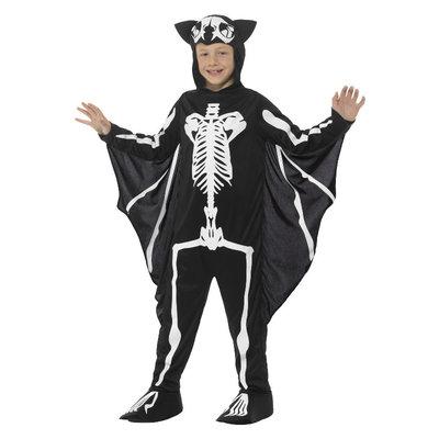 Vleermuis Skelet Kostuum - Zwart-wit