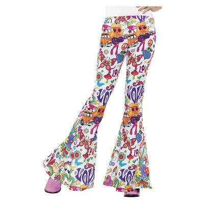 Groovy Flair Pants Dames Veelkleurig