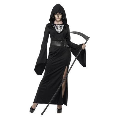 Reaper Dame Kostuum Zwart