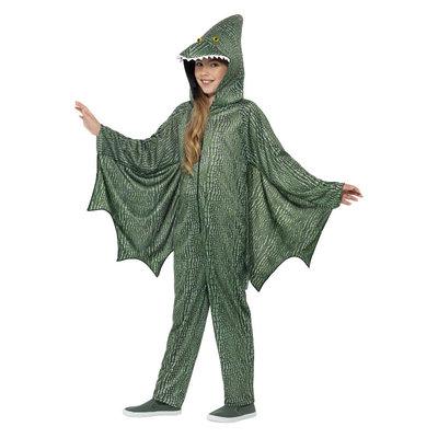 Pterodactylus Dinosaurus Kostuum - Groen
