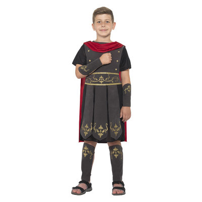 Romeinse Soldaat Kostuum - Zwart