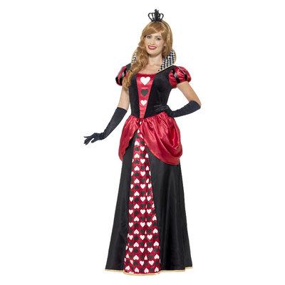 Royal Koningin Kostuum Rood