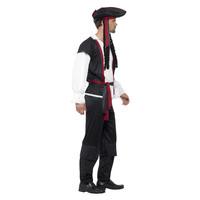 Smiffys Aye Aye Piratenkapitein Kostuum Zwart