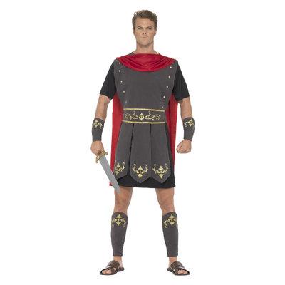 Roman Gladiator Kostuum - Zwart