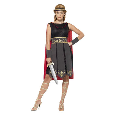 Romeinse Krijger Kostuum Zwart