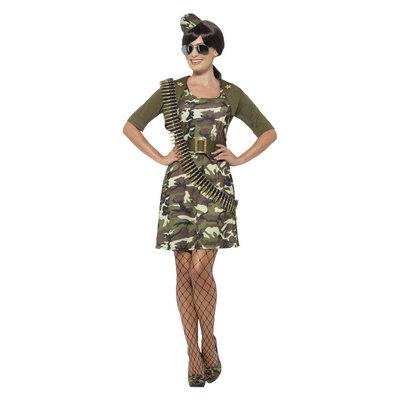 Combat Cadet Kostuum - Groen