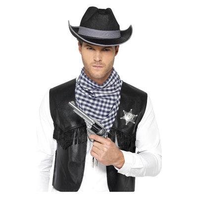 Western Verkleedset- Zwart