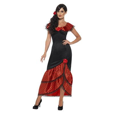 Flamenco Senorita Kostuum - Zwart