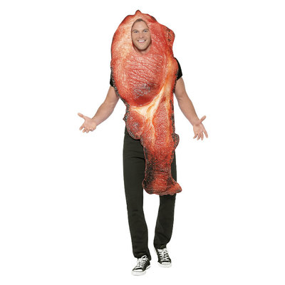 Bacon Kostuum - Roze
