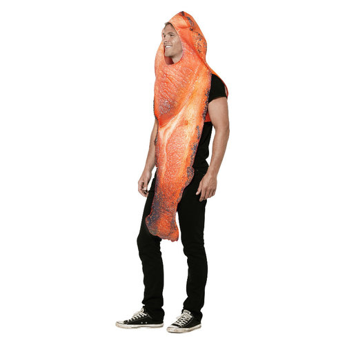 Smiffys Bacon Kostuum - Roze