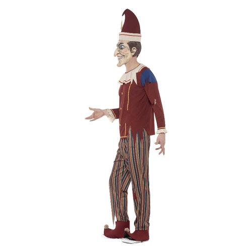 Smiffys Bezeten Punch Kostuum - Veelkleurige