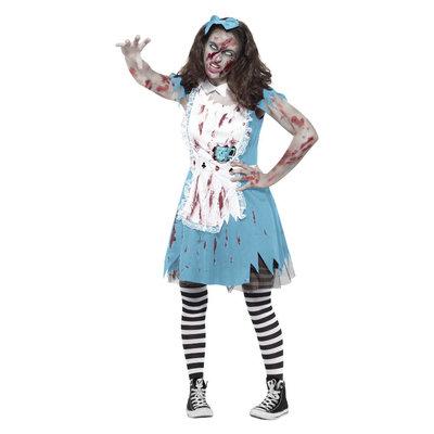 Zombie Tea Party Kostuum - Blauw