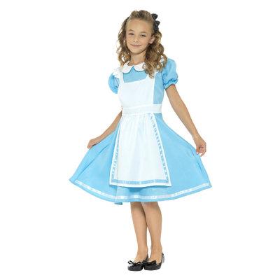 Wonderland Prinses Kostuum - Blauw