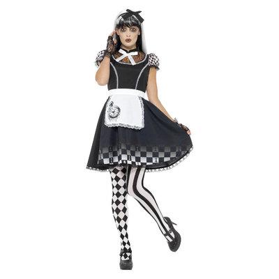 Alice Kostuum Gothic Zwart