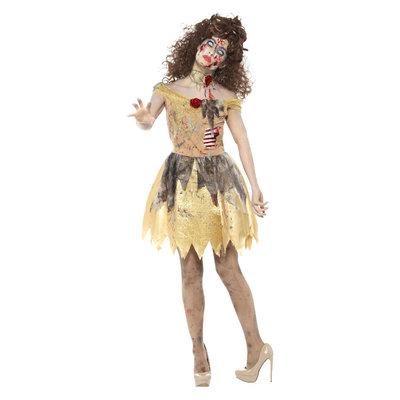 Zombie Gouden Sprookje Kostuum - Geel