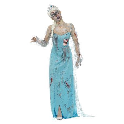 Zombie Doodgevroren Kostuum - Blauw