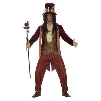 Toverdokter Voodoo Kostuum Rood