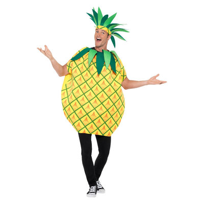 Ananas Kostuum - Geel