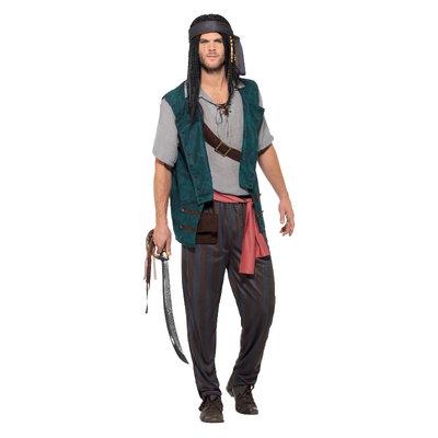 Piraat Matroos Kostuum Groen