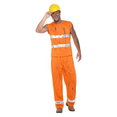 Mijnwerker Kostuum - Oranje