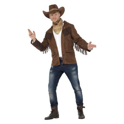 Sheriff Kostuum - Bruin